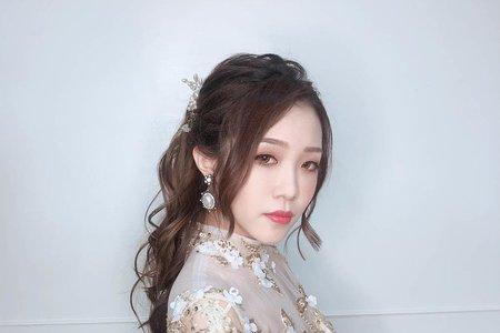 夢幻城堡彩妝造型/新秘婕喬- 韓系.甜美.龍鳳掛