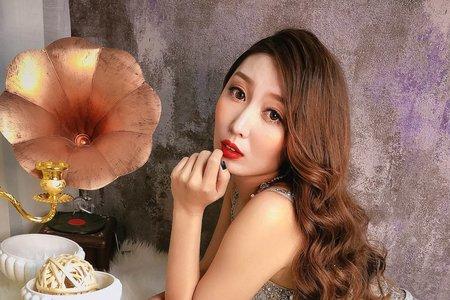 夢幻城堡彩妝造型/新秘蓁妮- 微混血妝容