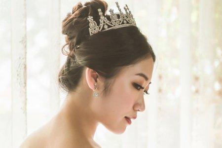 女神公主風 - 夢幻城堡彩妝造型團隊 #新秘嬿而