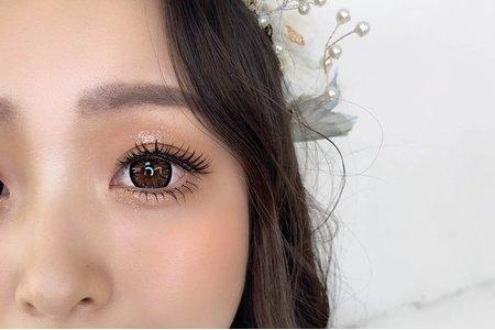 妝容分享 - 夢幻城堡彩妝造型團隊 #新秘LARA