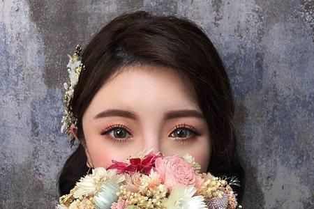 妝容分享 - 夢幻城堡彩妝造型團隊 #新秘婕喬