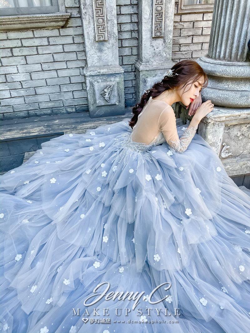 夢幻城堡-造型總監蓁妮 婚宴新秘服務作品
