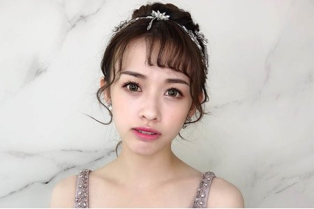 新秘Lara 夢幻城堡彩妝造型團隊 作品精選