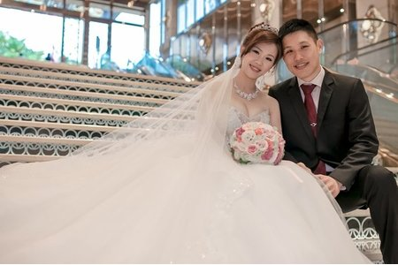 [婚禮攝影] 大偉&一璇 / 結婚 / 寶麗金國際婚宴會館