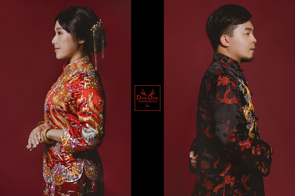 Dear Deer 中式龍鳳褂&旗袍(編號:3196963) - Dear Deer鹿兒攝影 女攝影師蘇蔓《結婚吧》