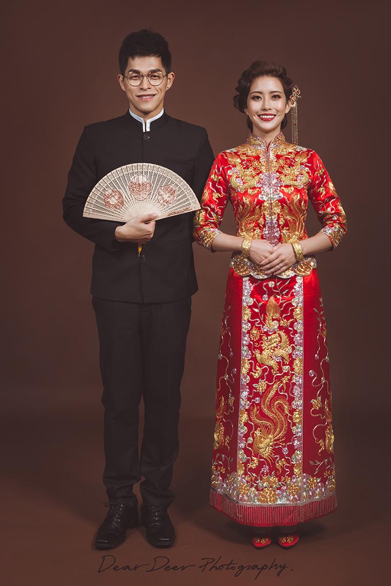 Dear Deer|中式龍鳳褂&旗袍(編號:3960432) - Dear Deer鹿兒攝影|女攝影師蘇蔓《結婚吧》