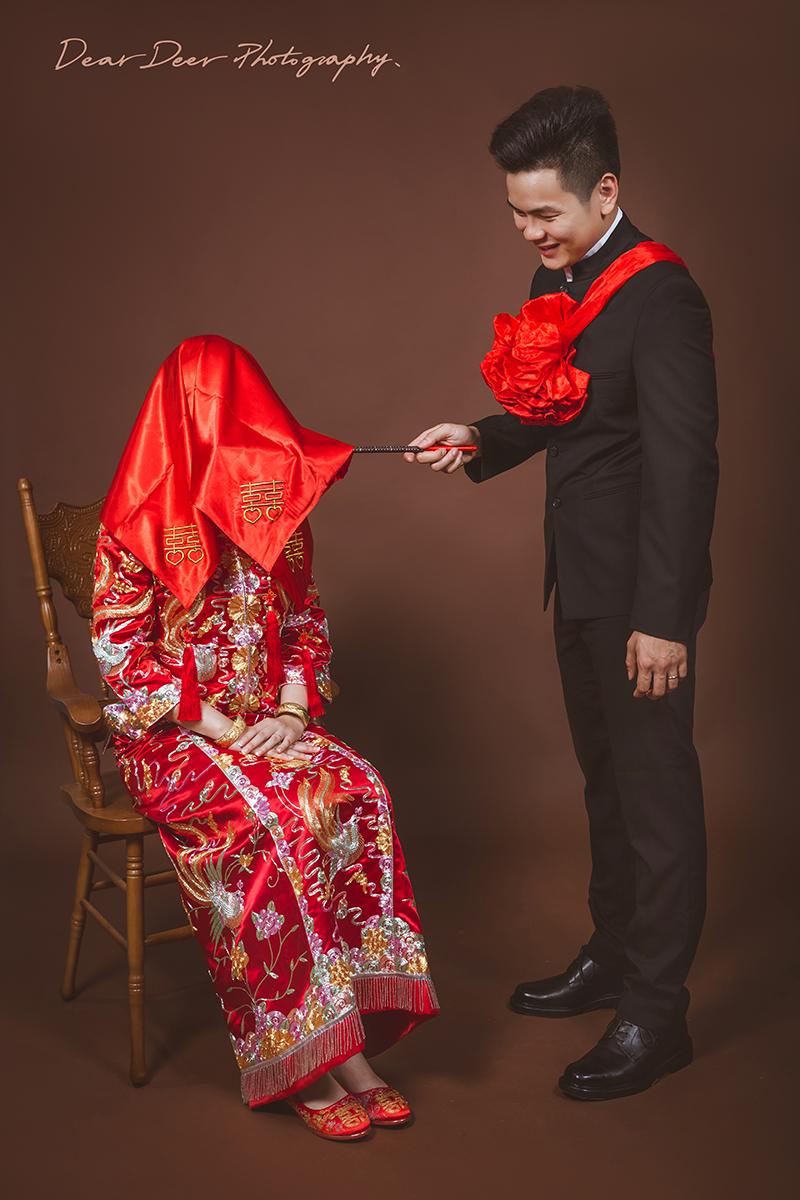 Dear Deer|中式龍鳳褂&旗袍(編號:3960437) - Dear Deer鹿兒攝影|女攝影師蘇蔓《結婚吧》