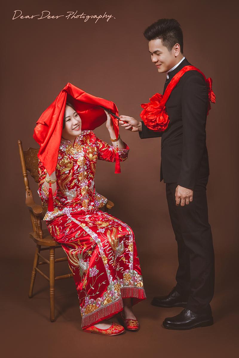Dear Deer 中式龍鳳褂&旗袍(編號:3960438) - Dear Deer鹿兒攝影 女攝影師蘇蔓《結婚吧》