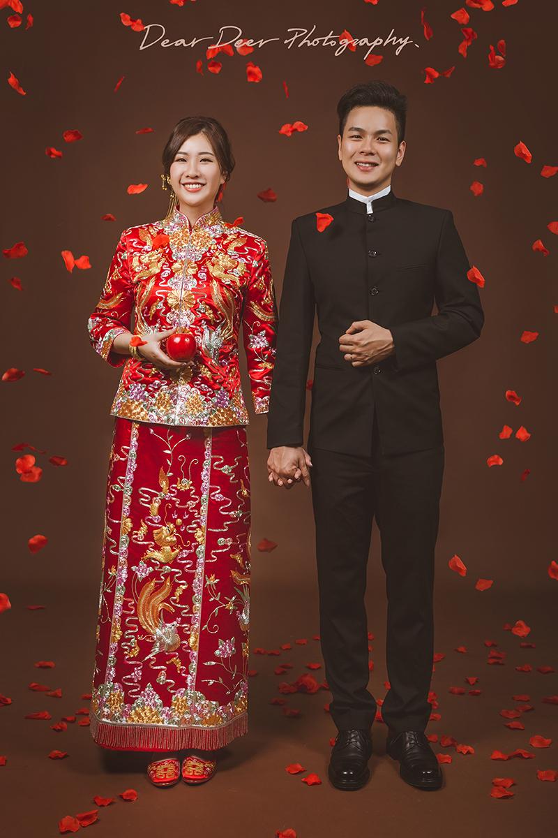 Dear Deer|中式龍鳳褂&旗袍(編號:3960439) - Dear Deer鹿兒攝影|女攝影師蘇蔓《結婚吧》