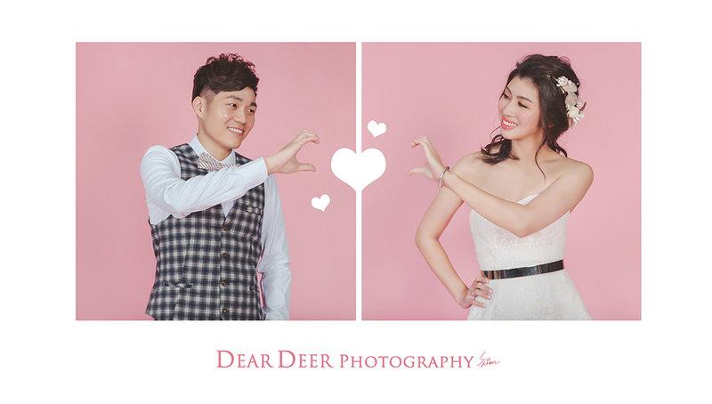 Dear Deer 自主婚紗-純棚拍方案作品