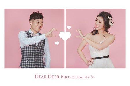 Dear Deer 自主婚紗-純棚拍方案