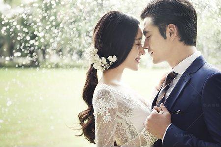 婚紗|婚紗攝影/台灣之美-最韓柔光