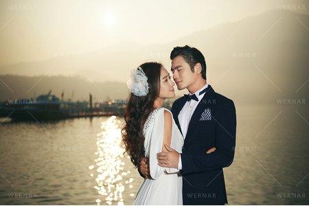 婚紗|婚紗攝影/台灣之美-湖岸蔓延