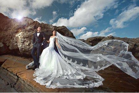 婚紗|婚紗攝影/台灣之美-情熱礁融