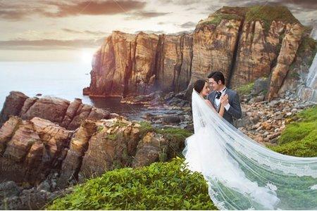 婚紗|婚紗攝影/台灣之美-磐石愛戀