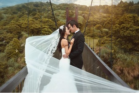 婚紗|婚紗攝影/台灣之美-森情漫遊