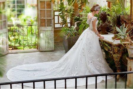 婚紗禮服|單租禮服/水晶概念禮服第11代