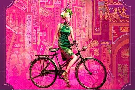 中式|京劇婚紗/豔遇東方第3代