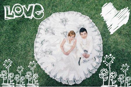Beautiful Bride 客片分享 政賢 ❤ 姵妏