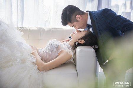 華納婚紗 客片分享 效誠 ❤ 冠林