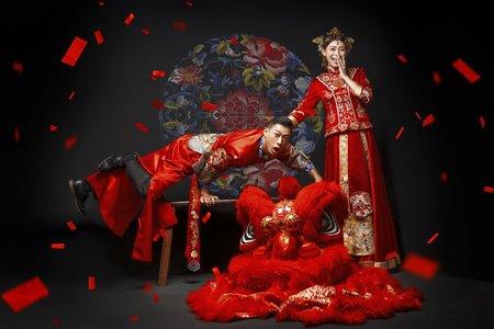 好好拍-中式婚紗
