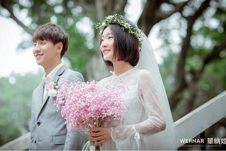 小清新婚紗照|日系、文青、便服、輕婚紗