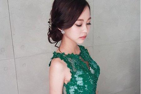 高雄新秘/ 韓系髮型/ 自然妝感