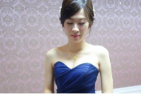 高雄新秘宴客造型/短髮新娘