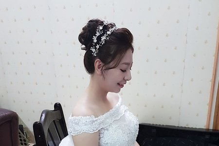 高雄新秘白紗迎娶造型
