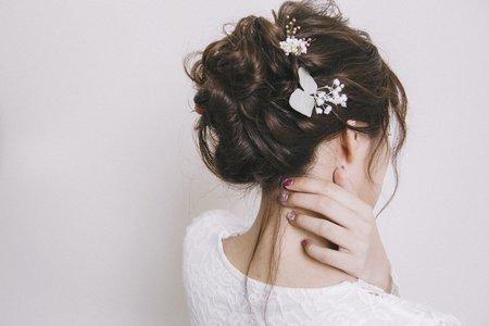 高雄新秘韓系鬆線條髮型