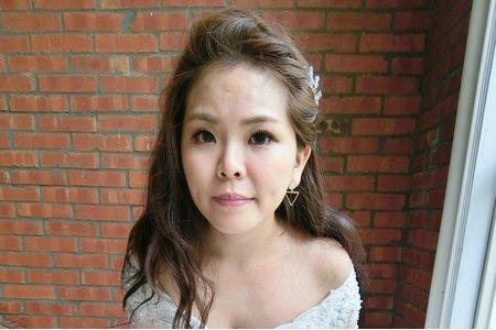 2017_婚紗造型_眉琦