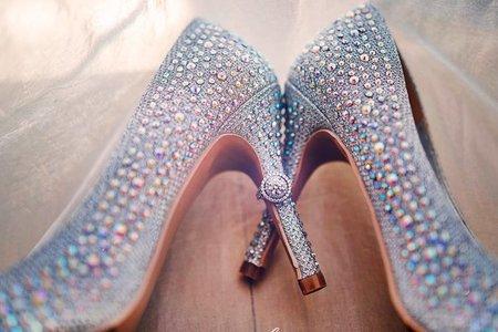 【婚禮細節 精選】屬於你的 婚戒。婚鞋。婚紗 創作拍攝