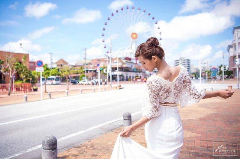 沖繩婚紗 夢幻的海外婚紗照