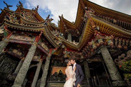 『婚紗攝影』廟宇婚紗