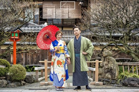 {婚紗攝影}京都和服寫真