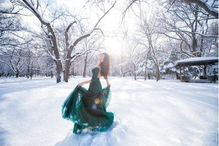 { 婚紗攝影 }北海道雪景婚紗