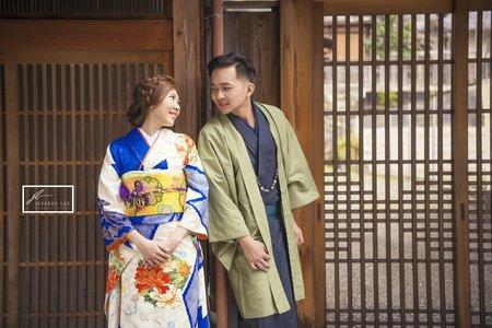 『海外婚紗』京都和服寫真