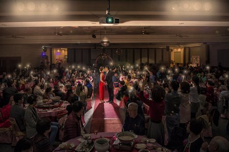 『婚禮攝影』新吉利餐廳惠美晚宴