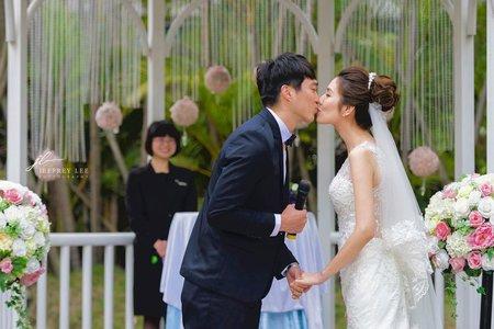 『婚禮攝影』戶外證婚台北園外園