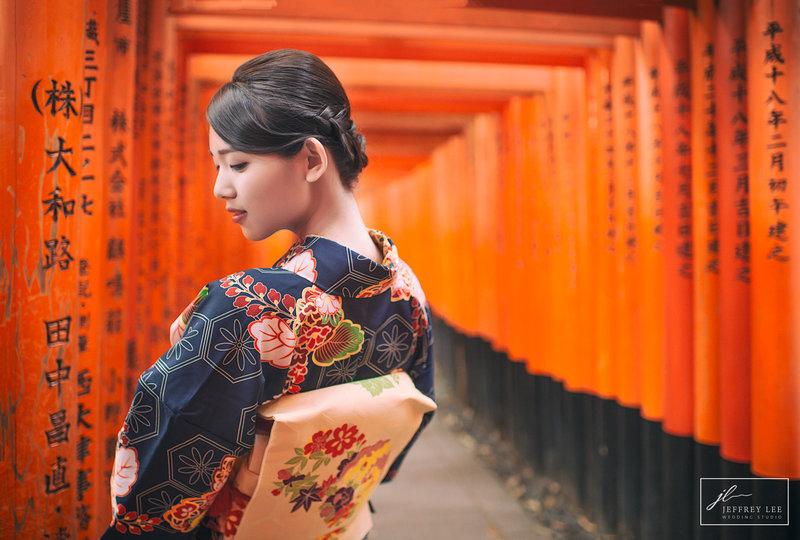 京都婚紗寫真和服