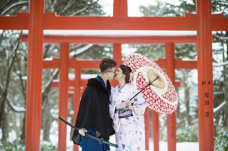 北海道和服寫真婚紗