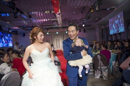 『婚禮攝影』 Mega50超美宴會館 鼎鼎宴會廳X活潑美式婚禮