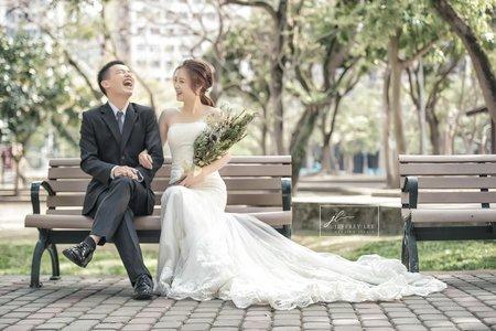 『婚紗攝影』美式自然清新婚紗