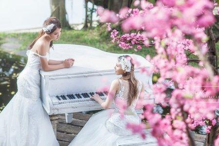 『婚紗攝影』閨蜜婚紗