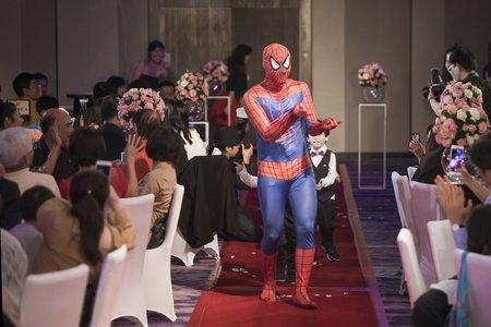 『婚禮攝影』你沒看過的超酷COSPLAY婚禮X喜來登婚攝