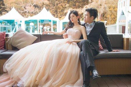 『婚禮攝影』浪漫戶外證婚感動時刻