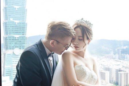『婚禮攝影』超多絕美類婚紗 世貿33