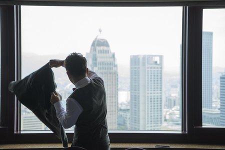 『婚禮攝影』世貿33 歡樂闖關 型男美女類婚紗