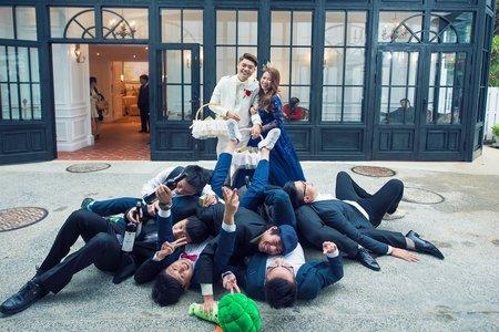 『婚禮紀錄』最活潑伴郎團 ~ 香格里拉美麗婚禮