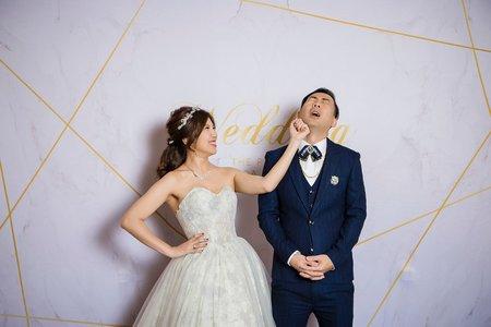 撞臉1/2強的神主持 的開心婚禮